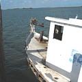 Abandoned Shrimpboat by Wendell Baggett