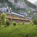 Abandoned Side Of The Canfranc International Railway Station by RicardMN Photography