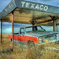 Abandoned Silverado by Tony Baca