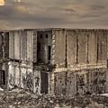Abandoned Station by Lyudmila Prokopenko