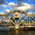 Abandoned Swingbridge by Ken Marsh