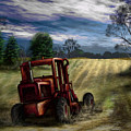 Abandoned Tractor by Ron Grafe
