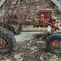 Abandoned Tractor by Timothy Ruf