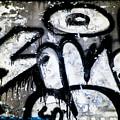 Abandoned Train Car Graffiti Ir by Scott Lacey