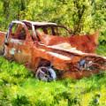 Abandoned Truck by Francesa Miller
