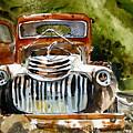 Abandoned Truck by Shirley Sykes Bracken
