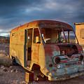 Abandoned Van by Charles Scrofano Jr