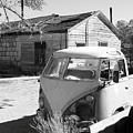 Abandoned Volkswagen Van by Troy Montemayor