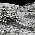 Abandoned Wagons Of Bannack Montana Ghost Town by Daniel Hagerman