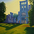 Abbey At Jumieges by Stephen Degan
