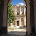 Abbey Of The Holy Spirit At Morrone In Sulmona, Italy by Angela Rath