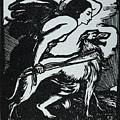Abbey Theatre Emblem  by Granger