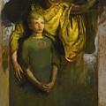 Abbott Handerson Thayer 1849 - 1921 Boy And Angel by Abbott Handerson Thayer