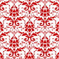 Abby Damask With A White Background 02-p0113 by Custom Home Fashions