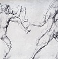 Abduction Of A Woman Rape Of The Sabine Women 1495 by Durer Albrecht