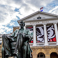 Abe On Bascom Hill by Rockland Filmworks