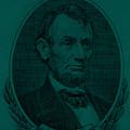 Abe On The 5 Greenishblue by Rob Hans