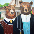 Abearican Gothic by Emily Cooper