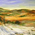 Aberdeen Winter Landscape by Lizzy Forrester