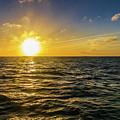 Aboard A Danger Charter Sunset Cruise In Key West by Bob Slitzan