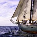 Aboard The Adventurer by Joe Geraci