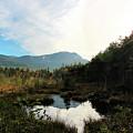 Abol Mt And Round Pond by Sandra Huston
