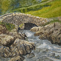 Above Ashness Bridge by Shirley Braithwaite Hunt