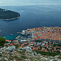 Above Dubrovnik - Croatia by Stuart Litoff