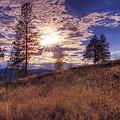 Above Lake Okanagan by Paul W Sharpe Aka Wizard of Wonders