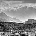 Above Muktinath, Nepal by Kirk Dearden