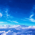 Above The Clouds Sky Is Always Blue by Mari Biro
