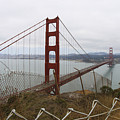 Above The Golden Gate by Leslie Hunziker
