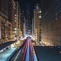 Above The Loop Towards The Trump Tower by Jay Smith