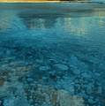Abraham Bubbles And Icy Reflections by Adam Jewell