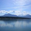 Abraham Lake Reflections by Wilko Van de Kamp