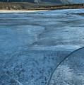 Abraham Lake Winter Ice by Adam Jewell