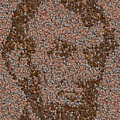 Abraham Lincoln Penny Mosaic by Paul Van Scott