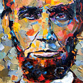 Abraham Lincoln Portrait by Debra Hurd