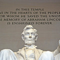 Abraham Lincoln Statue - 2 by Tom Doud