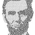Abraham Lincoln Typography by Jurq Studio