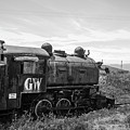 Abandoned Mine Locomotive Butte Montana by Edward Fielding