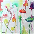 Blob Flowers by Bonny Butler