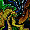 Abstract 6-10-09-a by David Lane