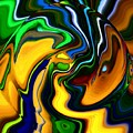 Abstract 7-10-09 by David Lane