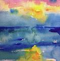 Floating In Blue by Bonny Butler