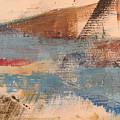 Abstract At Sea 2 by Anita Burgermeister