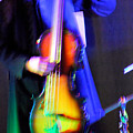 Abstract Bass Player. by Oscar Williams