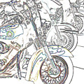 Abstract Bikes by Tom Gari Gallery-Three-Photography