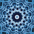 Abstract Blue 16 by David Wagner