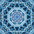 Abstract Blue 22 by David Wagner
